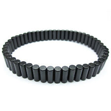 Power Magnetic Therapy NdFeB Neodymium Magnet Bracelet Removable Black 8.5""