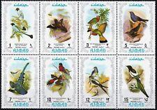 Ajman 1971 Beautiful Stamps Birds .