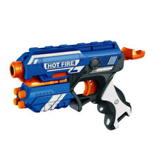 Blaze Storm Foam Bullet Blaster Hand Gun Long Distance Shoot Range of up to 80'