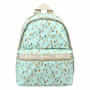 LeSportsac Party Pups Basic Backpack/Rucksack, Free Ship Colorful Dogs/Puppies