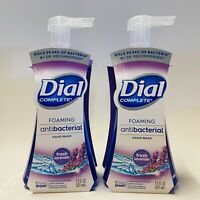 2-Pack Dial Complete Foaming Hand Soap FRESH LAVENDER Kills Bacteria 7.5 oz