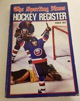 Sporting news Hockey Register 1982-83