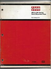 Original Oem Case 300 500 Semi Mounted Plow Parts Catalog A1313 Dated 12 1978