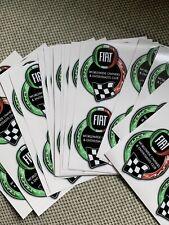 Fiat propietarios y entusiastas en todo el mundo Pegatina de Coche Club