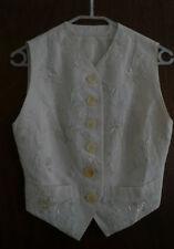 Button Viscose Regular Size Waistcoats for Women