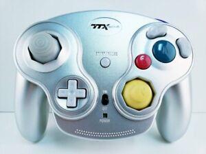 TTXTech GC Wavedash Wireless Controller Silver for Nintendo GameCube BRAND NEW
