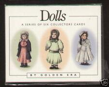 Bambole-COLLEZIONISTI Trading Card Set-francese / tedesco Bisque capo Antico jumeau