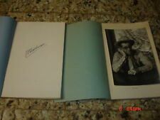 SIGNED 1ST edition 1 & 2 NOTEBOOK OLD WEST HUTCHINSON HISTORY