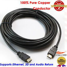 Gold HDMI-30 HDMI Cable (30 feet), 3D&1080P and Audio Return