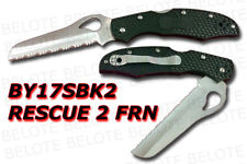 Spyderco Byrd Cara Cara Rescue 2 FRN Serrated BY17SBK2
