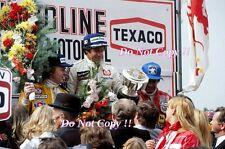 Ronnie Peterson & Mario Andretti JPS Lotus Belgian Grand Prix 1978 Photograph