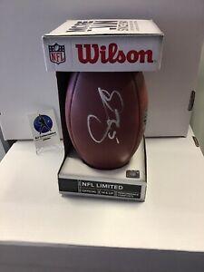Donovan McNabb Auto Football NFL Wilson Ball TriStar COA Eagles A2