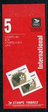 Weeda Canada BK143b VF complete booklet, 84c Fruit Tree 1991 definitive CV $15