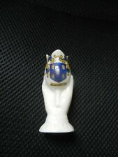 READING Pearl Arms  Crested China vase hand with tulip