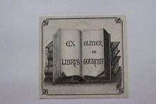 ✒ EX LIBRIS Olivier de Gourcuff