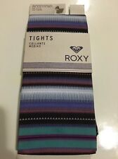 TWO PACKS of Roxy Women's Tights One Size Fits Most Purple