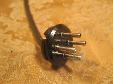 Amphenol 4 Pin Connector Male for Rogers, Hammond, Allen Organ Speakers