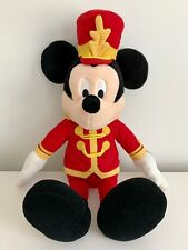 "Macy's Mickey Mouse 24"" Marching Band Leader Christmas Holiday Disney Plush"