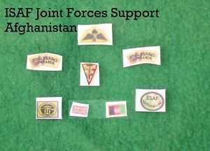 1/6 scale British Royal Marines Commando Joint Forces Support Afghan Patch lot