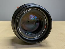 Minolta AF Maxxum 50mm f/1.4 Prime Lens (Sony Alpha Mount) - Near Mint