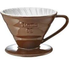 Dripper Tiamo V02 Conic Brown, 2-4 Cup