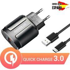 Cargador universal para móvil USB 3.0 carga rápida + micro USB /  tipo C