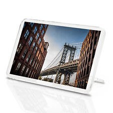 Manhattan Bridge Classic Fridge Magnet - USA New York Brooklyn Fun Gift #8930