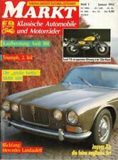 OldtimerMarkt 1/92 Jaguar XJ BMW 600 Isetta Audi 100 Mercdes 600 Landaulet