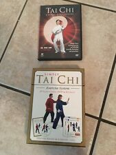 Simply Tai Chi Exercise System on DVD W/ Cards + Tai Chi 6 Forms 6 Easy Lessons