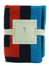 Pottery Barn Kids Spider-Man Quilted Bed Sham Euro Square Marvel Comics Bedding