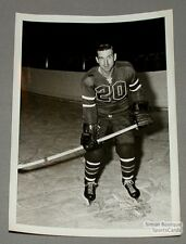 AHL 1959-60 Springfield Indians Michel Labadie Photo