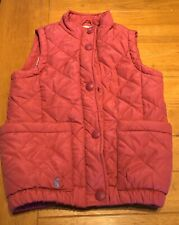 Girls Joules Gilet. Age 7. Pink