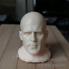 Custom 1/6 scale blank Head Sculpt Jason Statham unpainted
