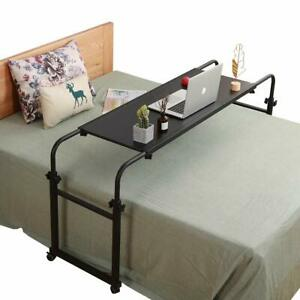 Overbed Table Adjustable Height and Length / Mobility Study Desk Home Medical