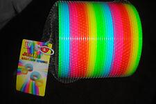 "Go! Jumbo Rainbow Spring 6"" Plastic Slinky Toy"