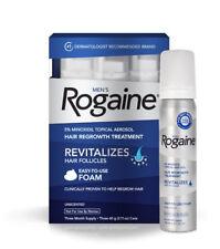 ROGAINE MENS FOAM (4 MONTH) 5% minoxidil topical 3 regaine lipogaine foligain