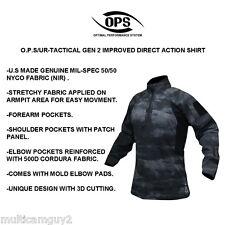 OPS / UR-TACTICAL GEN 2 Improved DA combat shirt in A-TACS LE, MEDIUM REGULAR