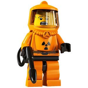 LEGO Minifigure SERIES 4 - HAZMAT GUY Minifig 8804