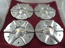Baccarat Chrome Custom Wheel Center Cap # 60701875F-1 / C1130 (4 CAPS)