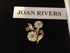 Beautiful Joan Rivers Brrooch ,in Shape Of Flowers