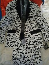 THE NIGHTMARE BEFORE CHRISTMAS JACK SKELLINGTON SUIT HALLOWEEN NWT size 38