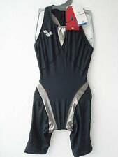 Japan Arena Bodyskin Kneeskin Competition Swimsuit Dark Gray Size Small S
