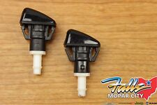 Pair of Dodge Ram Charger Magnum 300 Windshield Washer Sprayer Nozzle Mopar OEM