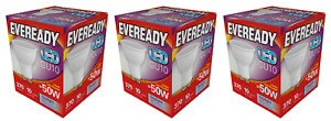 x 3 Eveready 5w (=50w) LED GU10 Spotlight Reflector Lamp - Daylight White / 865