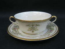 Lenox Castle Garden~(1)~Footed Cream Soup & Dessert Plate~1st Quality~Perfect