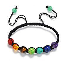 7 Chakra Healing Balance Beads Bracelet Yoga Life Energy Bracelet Jewelry fS