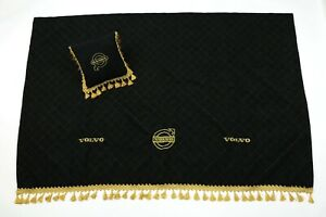Volvo Bed Cover Blanket Pillow Truck Cabin interior Bed Spread  Black color
