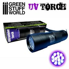 Ultraviolet Torch - LED Blacklight Lighting Fluor Paints Scenery Miniature Photo