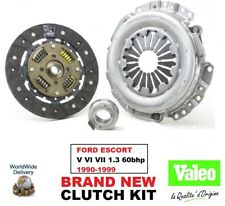 VALEO Kit de embrague para FORD ESCORT V VI VII 1.3 60BHP 1990-1999 190mm