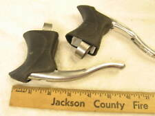 new lot leechi  23.8 24.2 mm clamp drop bar road bike brake levers set hoods lrg